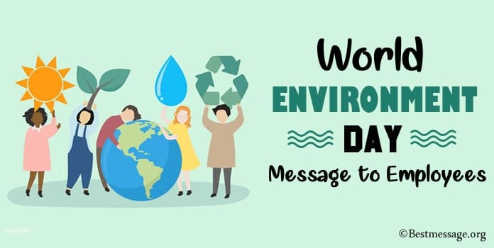 World Environment Day Message to Employees