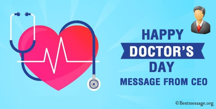 Doctors Day Message from CEO