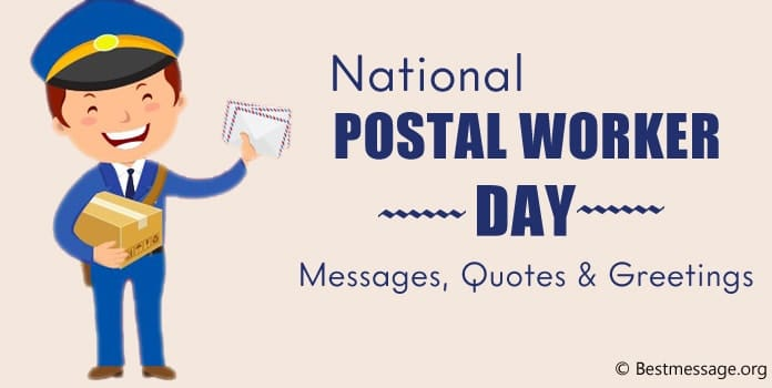 National Postal Worker Day Messages, Postal Worker Quotes, Greetings Image
