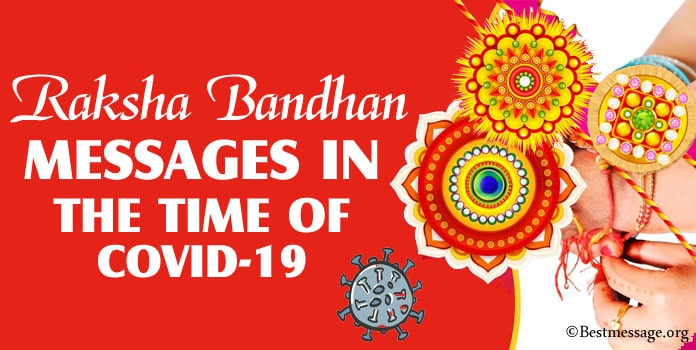 Raksha Bandhan Messages in the Time of COVID-19