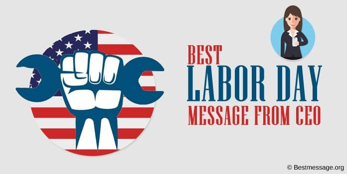 Labor Day Message from CEO