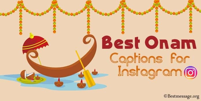 Onam Captions for Instagram, Funny Onam Captions