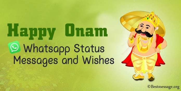 Happy Onam Whatsapp Status Messages, Onam Wishes