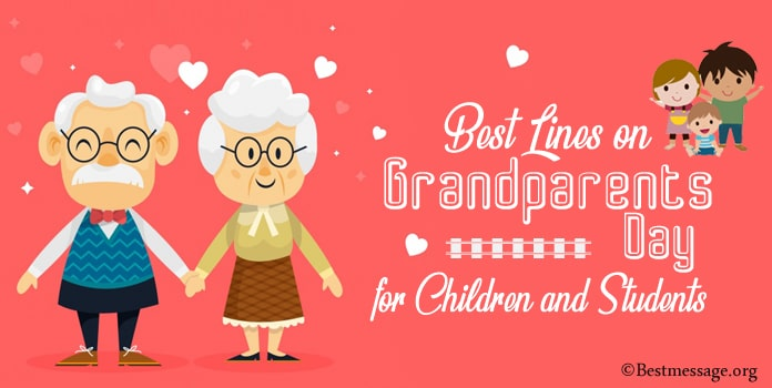 Best Lines on Grandparents Day for Children and Students