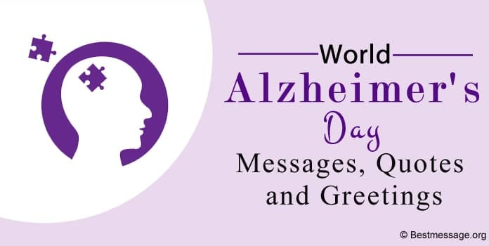 World Alzheimers Day Messages, Alzheimer Quotes, Greetings