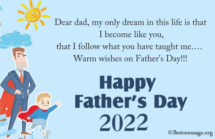 happy Fathers Day Wishes images, Greetings Messages 2021