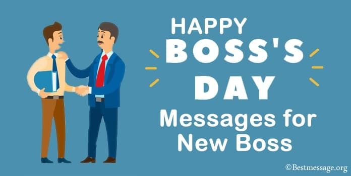 Happy Boss Day Messages for New Boss, Boss Day wishes