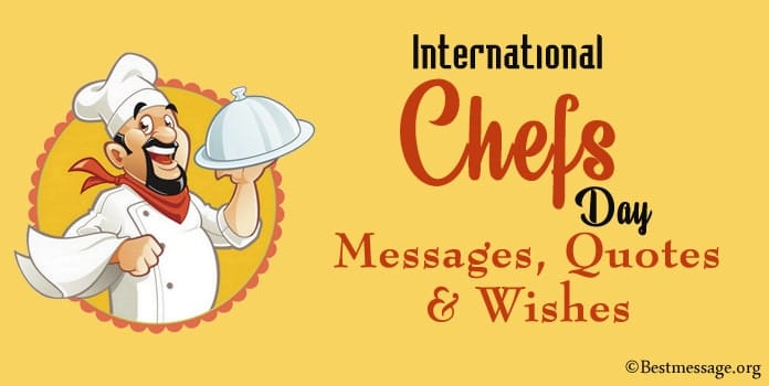 International Chefs Day Messages, Chef Quotes, Chefs Day Wishes Image