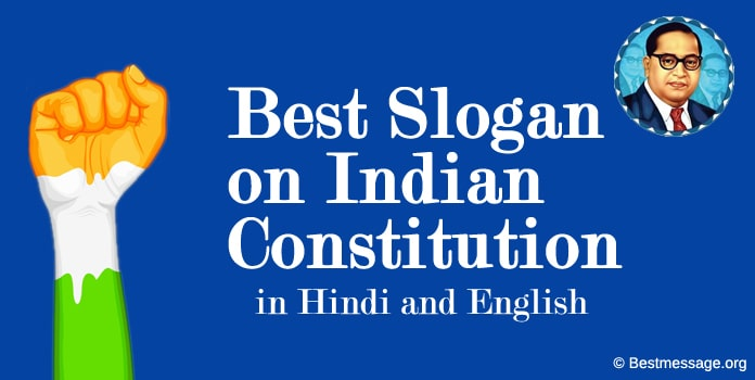Slogan on Indian Constitution, Hindi, English Samvidhan Divas Slogans