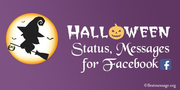 Halloween Messages for Facebook, Halloween Facebook Status