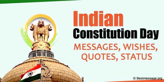 Indian Constitution Day Messages, Samvidhan divas Wishes, Quotes