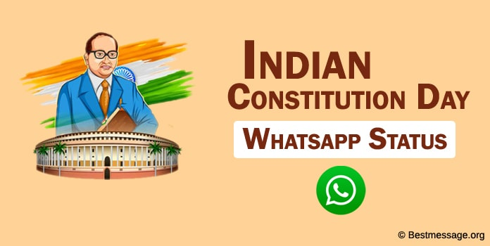 Constitution Day WhatsApp status, Samvidhan Diwas WhatsApp Status messages