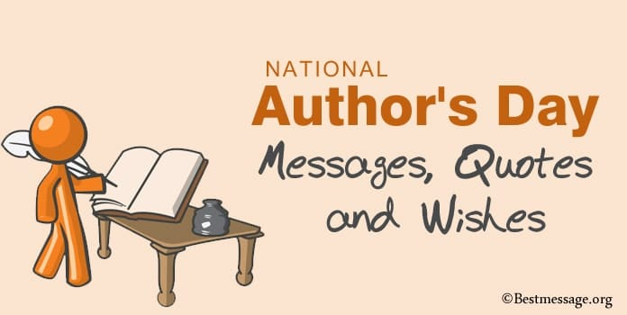 National Author's Day Messages, Author Quotes, Wishes Image