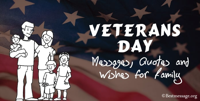 Veterans Day Wishes Messages, Quotes for Family
