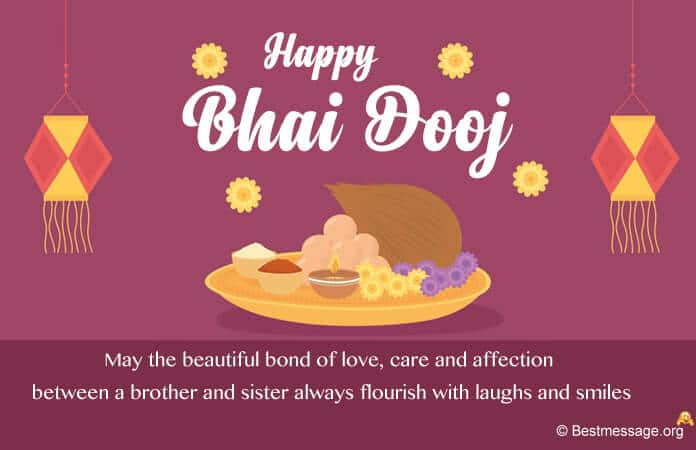 Bhai Dooj Status Messages for Brother and Sister