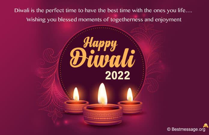 Sweet Happy Diwali Greeting Card Message
