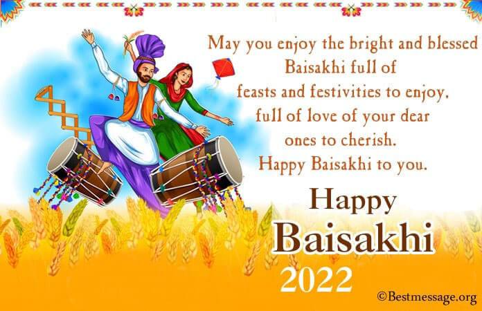 Happy Vaisakhi Messages, Baisakhi Quotes, Greetings