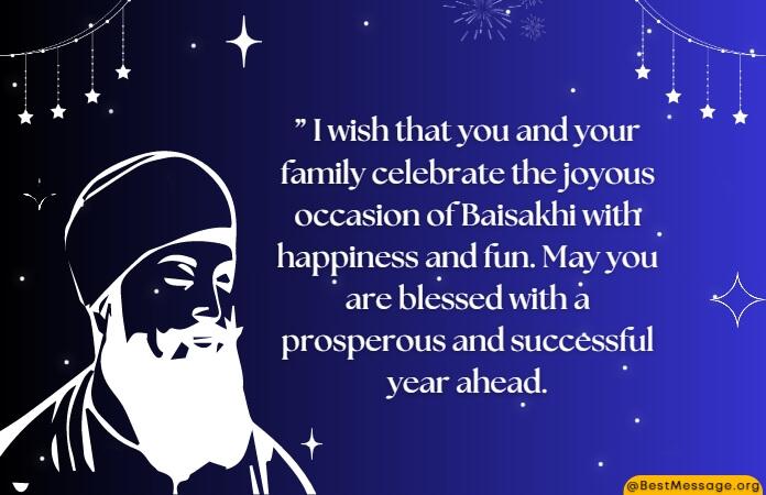 Baisakhi Messages with Images, Baisakhi Wishes