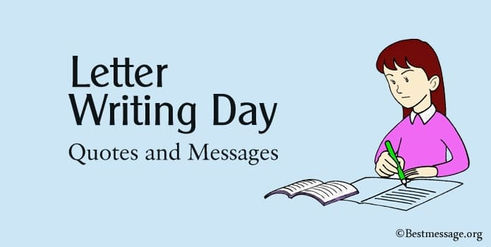Letter Writing Day Messages, Letter Writing Quotes