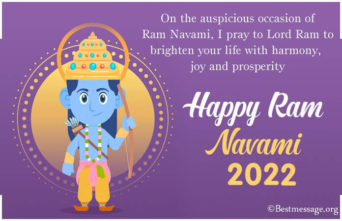 Ram Navami msg, Happy Ram Navami Wishes Images