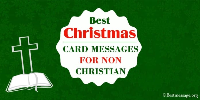Best Christmas Card Messages, Wishes for Non Christian
