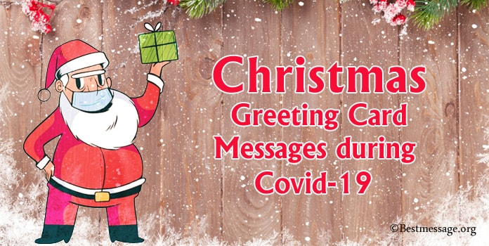 Covid-19 Christmas Card Messages, Christmas Greeting Card Messages during Coronavirus