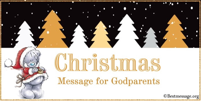 Christmas Card Messages Quotes, Wishes for Godparents, Godmother, Godfather