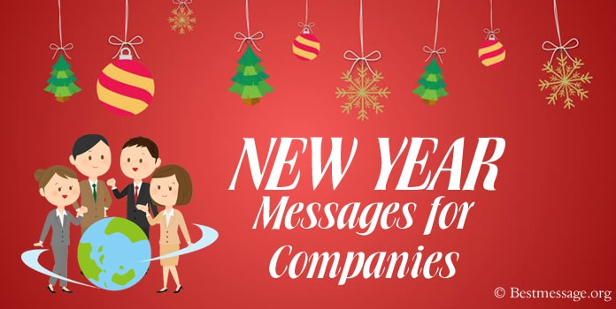 Happy New Year Messages for Companies, Business New Year Wishes