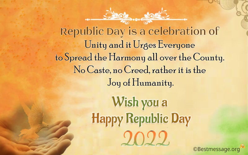 India Republic Day Wishes Image, Messages