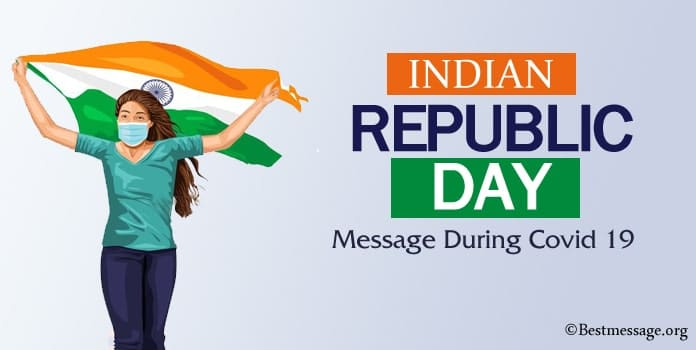 Indian Republic Day Message during Covid 19, Coronavirus wishes