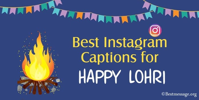 Happy Lohri Instagram Captions, Lohri Instagram Photo Captions