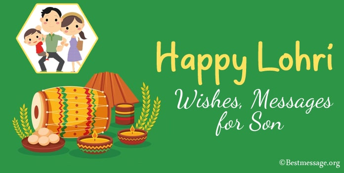 Happy Lohri Wishes, Lohri Messages for Son