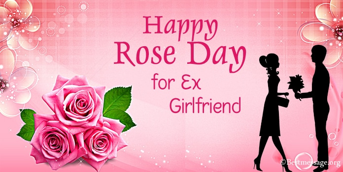 Rose Day Wishes Messages for Ex Girlfriend