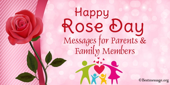 Happy Rose Day Messages for Parents & Family Members