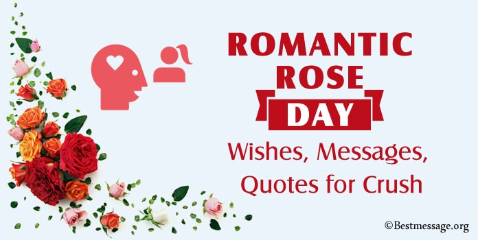 Rose Day Wishes, Rose Messages Quotes for Crush