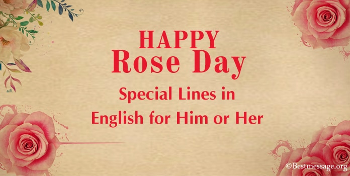 Happy Rose Day Special Lines, Rose Day best lines