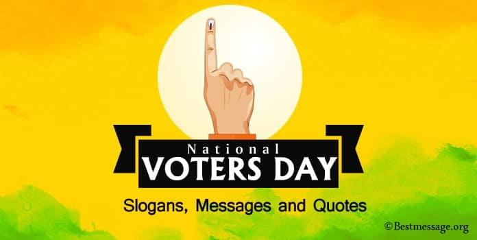 voters day slogans, Messages, Inspiring Voters Quotes Images