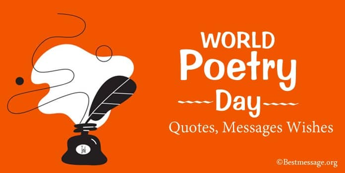 Happy Poetry Day Quotes, Poetry Messages Wishes
