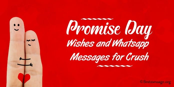 Promise Day Wishes, Whatsapp Messages for Crush