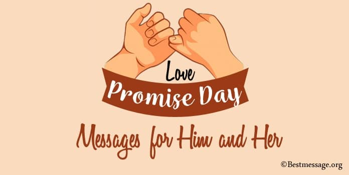 Promise Day Messages for Him and Her