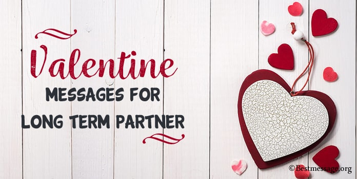 Valentine Messages for Long Term Partner