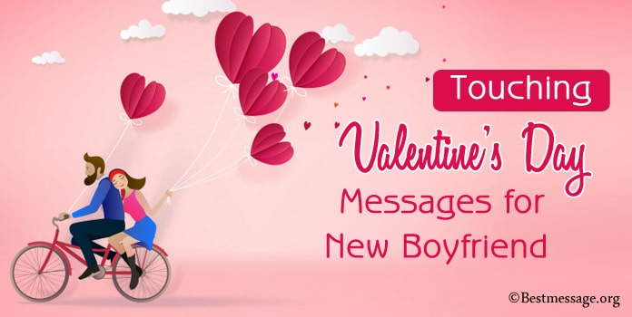 Valentine's Day Messages for New Boyfriend