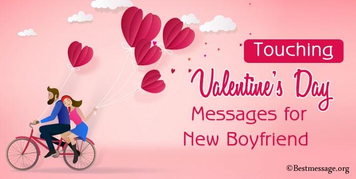 Valentine's Day Messages for New Boyfriend
