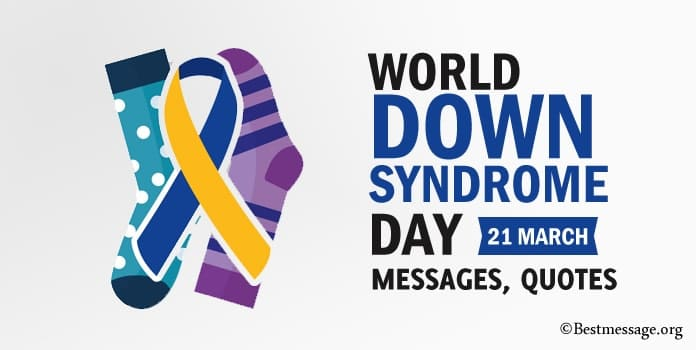 World Down Syndrome Day quotes, Messages Image