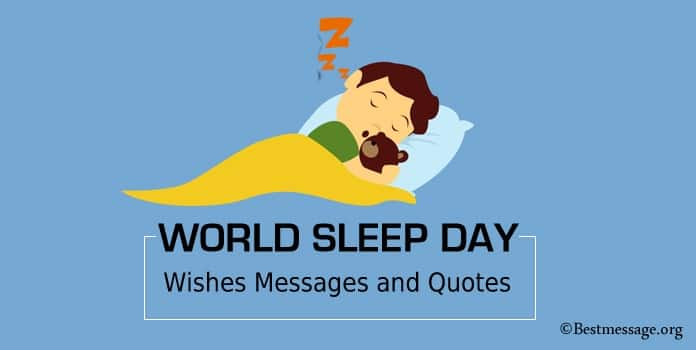 World Sleep Day Wishes Messages, Sleep Pictures and Photos