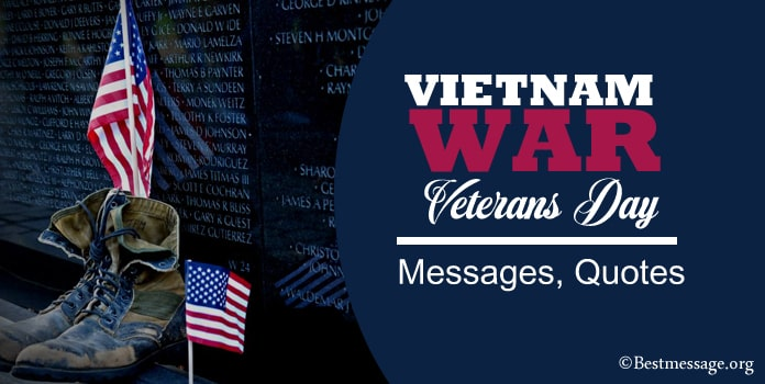 Vietnam War Veterans Day Messages, Veterans Quotes, Sayings