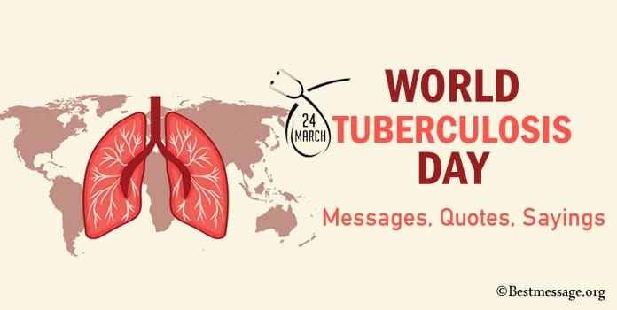 Tuberculosis Day Quotes, TB Slogans, Tuberculosis Day Messages Image
