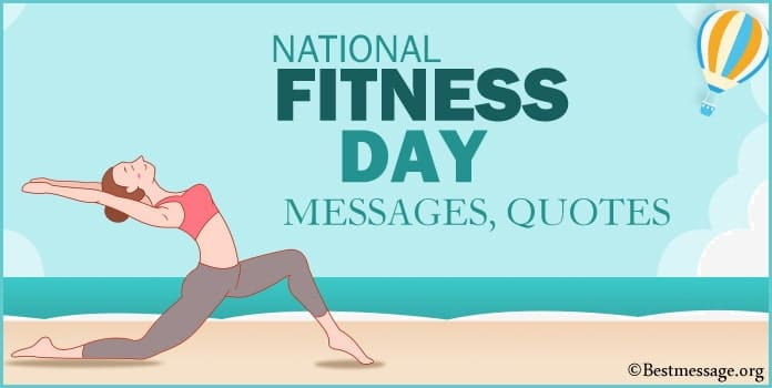 Fitness Day Quotes, Motivational Workout Messages, Fitness Slogans