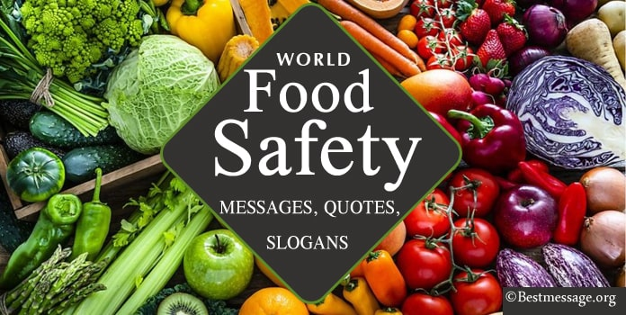 World Food Safety Day Messages, Quotes, Food Slogans