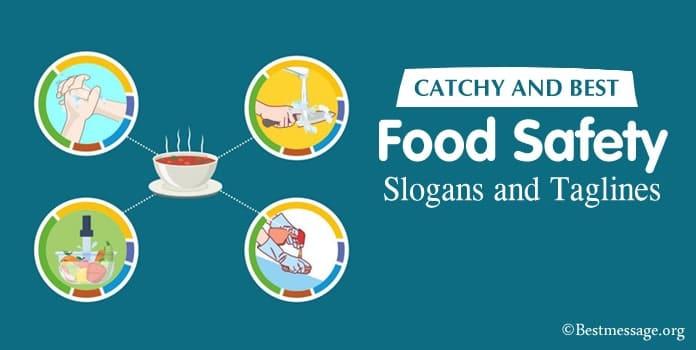 Food Safety Slogans, Food Slogans, taglines